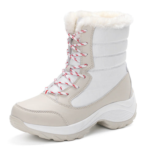 WDZKN 2016 snow boots Women's Shoes With Free Bluetooth audio receiver