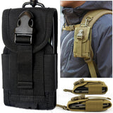 High Density Nylon Outdoor Hiking Camping Money Pocket Tactical Molle Cell Phone Travel Stuff Waist Pouch Bag - Hespirides Gifts - 1