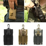 High Density Nylon Outdoor Hiking Camping Money Pocket Tactical Molle Cell Phone Travel Stuff Waist Pouch Bag - Hespirides Gifts - 6