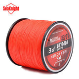 SeaKnight Brand Tri-Poseidon Series Brand Super Strong Japan 300m Multifilament PE Braided Fishing Line 8 10 20 30 40 50 60LB - The Fire Pits Store  - 9