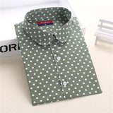 Hot Sale Women Polka Dot Shirt - Hespirides Gifts - 13