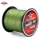 SeaKnight Brand Tri-Poseidon Series Brand Super Strong Japan 300m Multifilament PE Braided Fishing Line 8 10 20 30 40 50 60LB - The Fire Pits Store  - 1