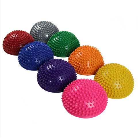 Yoga Half Ball Physical Fitness Appliance Exercise balance Ball point massage - Hespirides Gifts - 1
