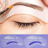 Eyebrow Shaper Stencil 4 styles/set Grooming Shaping DIY Beauty Eyebrow Template Make Up Tool - The Fire Pits Store  - 1