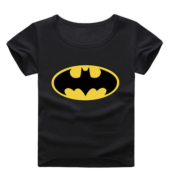 Spring Summer 100% Cotton Children Short Sleeve T-Shirts Kids Clothing Tees Baby Boy Girl Cartoon Tops Kids O Neck T shirt