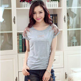 round neck t-shirt camisetas Y tops mujer kawaii tee femme summer style - Hespirides Gifts - 3