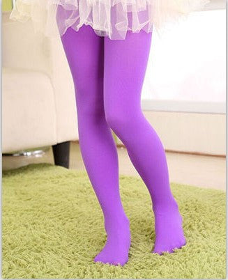 f068aa75ebe23 ... Children Warm Candy color Stretch Velvet Girl Kids Soft Pantyhose  Opaque Dance Leggings Stocking Pants 3 ...