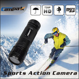 Campark HD 720P 120 Degree Wide Angle Waterproof Helmet Action Camera Recording Sport Camera Outdoor Hunting Camcorder - Hespirides Gifts - 3