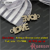 Round Oval Love Charms Pendants Diy Jewelry Findings Accessories More styles can picked - Hespirides Gifts - 13