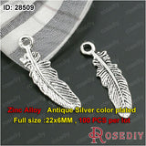 Small Feather Charms Pendants Diy Jewelry Findings Accessories More styles can picked - Hespirides Gifts - 4