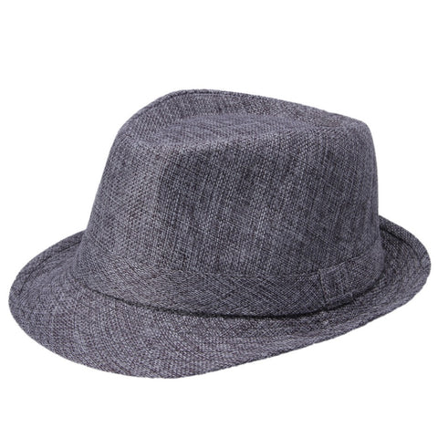 Men Women Wool Cotton felt fedora hat Cappelli Toca Jazz Felt Floppy with Ribbon Band Panama Sun Cap gorras hombre Gangster Cap - Hespirides Gifts - 1