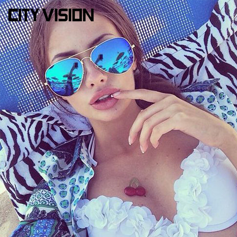 Fashion Pilot Polarized Sunglasses Women metal Glasses for Men Eyewear High Quality sunglass Female shades Oculos de sol - Hespirides Gifts - 1
