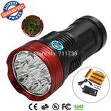 NEW AloneFire HF9-1 Rechargeable SKYRAY 15000LM LED 18650 Flashlight Torch Hunting - Hespirides Gifts - 1