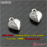 Small Hearts Charms Pendants Diy Jewelry Findings Accessories More styles can picked - Hespirides Gifts - 2