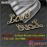 Round Oval Love Charms Pendants Diy Jewelry Findings Accessories More styles can picked - Hespirides Gifts - 6