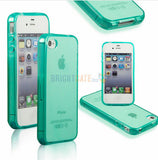 Ultra thin Colorful Transparent CLEAR JELLY TPU Gel Soft Silicone Case Cover Protector For iPhone 4 4S 5 5S 5G SE 6 6s 6 Plus - The Fire Pits Store  - 9