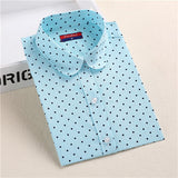 Hot Sale Women Polka Dot Shirt - Hespirides Gifts - 22