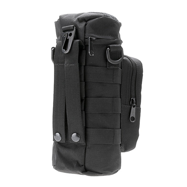 NEW Militray Tactical Molle Zipper Outdoor bag Hiking bags Climbing Bags - BLACK Color - Hespirides Gifts - 2