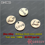 Round Oval Love Charms Pendants Diy Jewelry Findings Accessories More styles can picked - Hespirides Gifts - 18