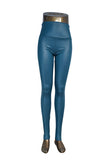 Plus Size New Fashion women's Sexy Skinny Faux Leather High Waist Leggings Pants S/M/L/XL - Hespirides Gifts - 15