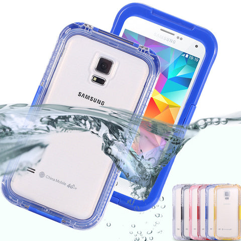Waterproof Swim Surfing Case For Samsung Galaxy S3 / S4 / S5 i9300 i9500 i9600 Clear Front & Back Cover Accessories Diving Capa - Hespirides Gifts - 1
