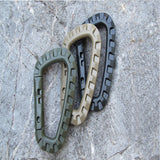 Mini Climbing Carabiner Clip Edc Tool Outdoor Camping Carabiner Equipment Military - Hespirides Gifts - 4