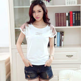 round neck t-shirt camisetas Y tops mujer kawaii tee femme summer style - Hespirides Gifts - 1