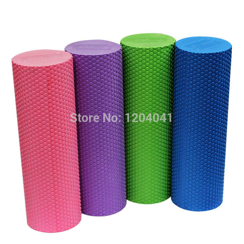 High Density Floating Point Fitness EVA Yoga Foam Roller for Physio Massage Pilates - Hespirides Gifts - 1