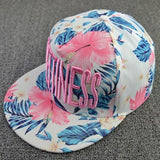 Hats Letter Embroidery Flowers Sweet Hats For Women Hip Hats Fashion Baseball Cap - Hespirides Gifts - 2