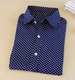 Hot Sale Women Polka Dot Shirt - Hespirides Gifts - 3
