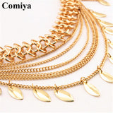 Comiya fashion multi rows link chains women belts ceinture homme marque famous brand dress accessories wholesale mujer lady belt - Hespirides Gifts - 3