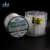 New Available 500M Fluorocarbon Fishing Line 0.148-0.467mm 5-32LB Carbon Fiber Leader Line brand fly fishing line pesca - Hespirides Gifts - 4