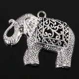 Wow Fashion antique silver plated elephant charms, Zinc Alloy - Hespirides Gifts - 6
