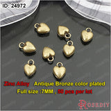 Small Hearts Charms Pendants Diy Jewelry Findings Accessories More styles can picked - Hespirides Gifts - 3