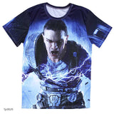 european style creative t shirt fashion sightseeing printing t-shirt short sleeve o neck - Hespirides Gifts - 14