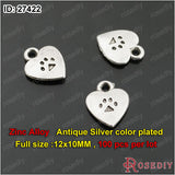 Small Hearts Charms Pendants Diy Jewelry Findings Accessories More styles can picked - Hespirides Gifts - 5