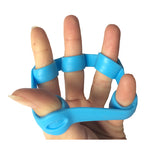 Finger Resistance Bands - 1 Pair Finger Stretcher New Hand Exerciser Grip Strength - Hespirides Gifts - 1