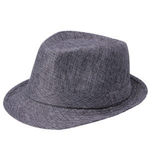 Men Women Wool Cotton felt fedora hat Cappelli Toca Jazz Felt Floppy with Ribbon Band Panama Sun Cap gorras hombre Gangster Cap - Hespirides Gifts - 2