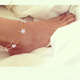 new ankle bracelet foot jewelry pulseras tobilleras heart simple anklets for women girl - Hespirides Gifts - 1