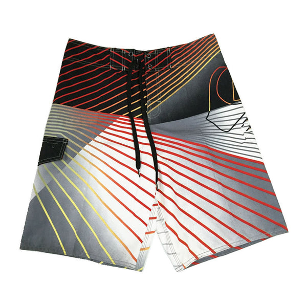 Men's Shorts Summer Board Shorts Surf Shorts Trunks Elastic Waist Band summer (M=32 L=34 XL=36 XXL=38) - Hespirides Gifts - 5