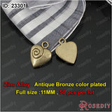 Small Hearts Charms Pendants Diy Jewelry Findings Accessories More styles can picked - Hespirides Gifts - 7
