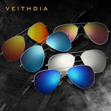 VEITHDIA Brand Designer Polarized Mens Sunglasses Fashion Driver Sun Glasses For Men with original box Outdoor Oculos Male 3026 - Hespirides Gifts - 16