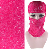 Latest Fashion Various Women Outdoor Multifunctional Headband Balaclava Seamless - Hespirides Gifts - 12