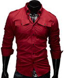 Solid Men Shirt - Hespirides Gifts - 4