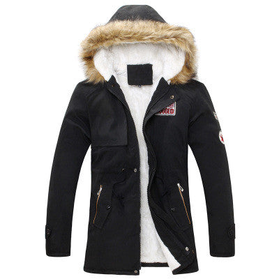 Men Warm Winter Fur Collar Coat/Jacket - Hespirides Gifts - 4