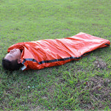 Outdoor Sleeping Bags Portable Emergency Sleeping Bags Light-weight Polyethylene Sleeping Bag for Camping Travel Hiking - Hespirides Gifts - 1