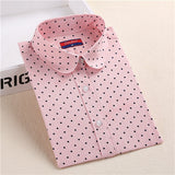 Hot Sale Women Polka Dot Shirt - Hespirides Gifts - 8