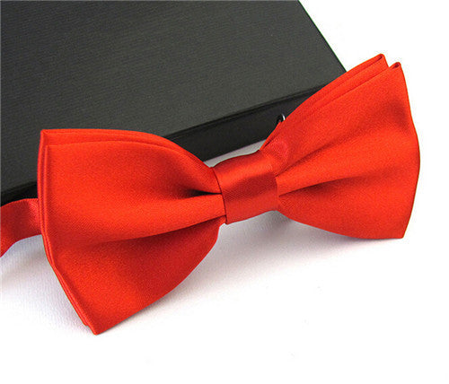 Ties for Men Fashion Tuxedo Classic Mixed Solid Color Butterfly Wedding Party Bowtie Bow Tie - Hespirides Gifts - 9