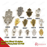 Palm Buddha hCharms Pendants Diy Jewelry Findings Accessories More styles can picked - Hespirides Gifts - 9