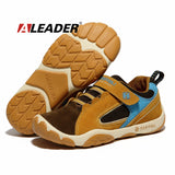 Genuine Leather Children Shoes for Boys Spring Summer Waterproof Boys Child Sport Shoes Breathable Casual Sneakers Trainers - The Fire Pits Store  - 1